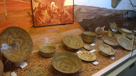 Deming Museum - Indian Basketry