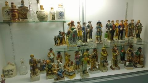 Deming Museum - Whisky Bottles