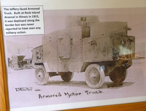 First Armored Truck - 4WD