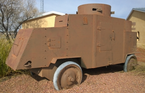 First Armored Truck