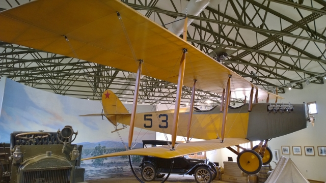 First US Military Plane JN-3