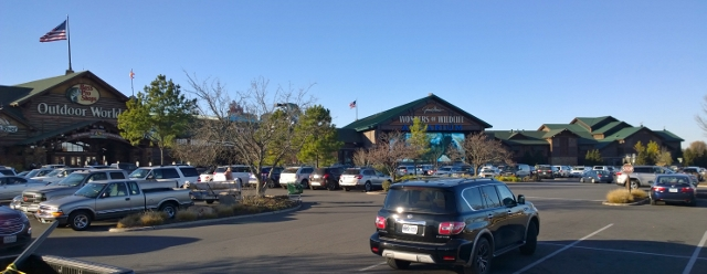 Bass Pro Shops (only half)