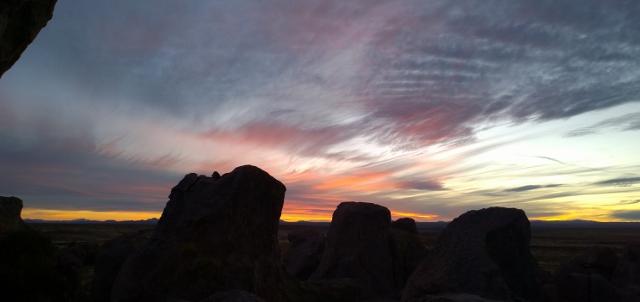 City of Rocks - Sunset