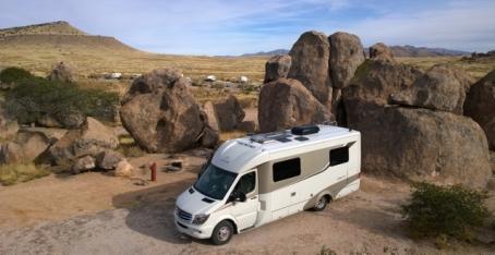 City of Rocks - Primitive Campsite 4