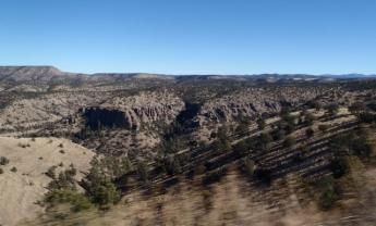 Descending to Gila
