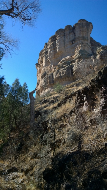 Trail to Gila Cliff Dwellings