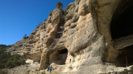 Cliff Dwellings frontal view