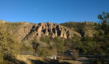 View towards Gila Hot Springs