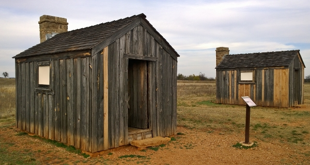 Fort Griffin - Barrack Huts