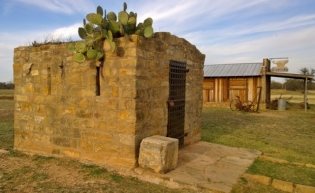 Fort Griffin - Jail and Blacksmith Shop