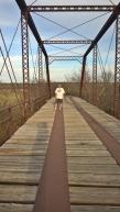 Fort Griffin - Old Truss Bridge 1885