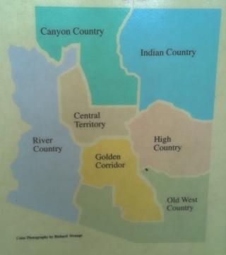 Areas of Arizona
