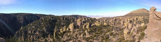 Panoramic View from Massai Point (6870')