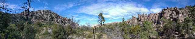 Panoramic View of Picket Park Canyon