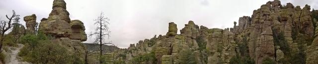Panoramic Echo Canyon Trail