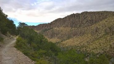 Lower Rhyolite Canyon Trail