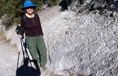 Hailstone Trail but these are Spherulites