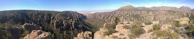 Panoramic View from Inspiration Point