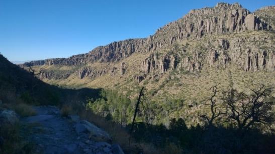 Lower Rhyolite Canyon