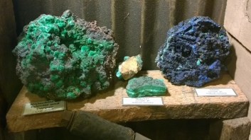 Malachite and Azurite