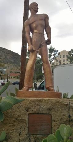 Copper Miner Statue