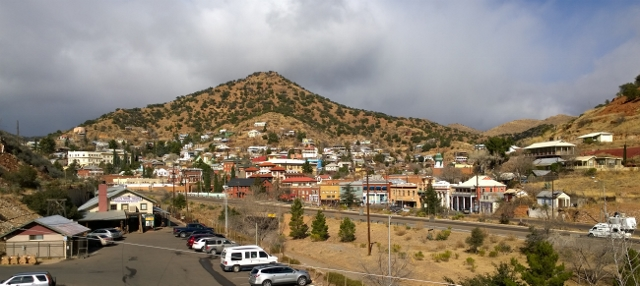 View of Bisbee from RV Park