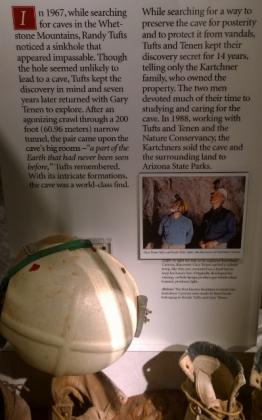 Discovering Kartchner Caverns