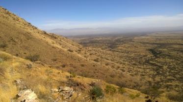 View towards San Pedro Valley