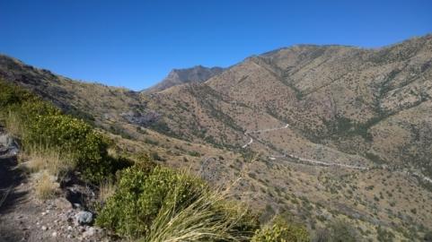 Montezuma Canyon and road