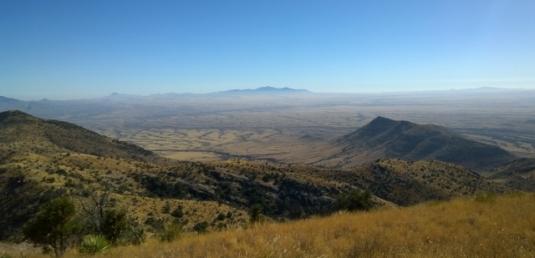 View from Coronado Peak