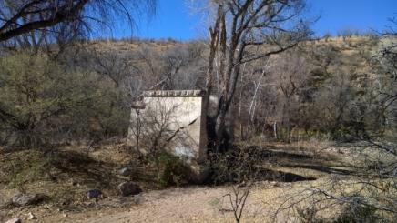 Railway trestle Abutment