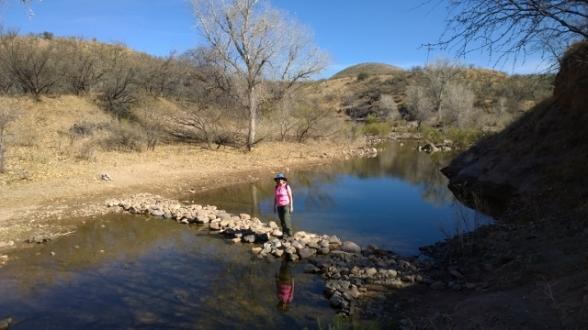 Spillway Creek crossing