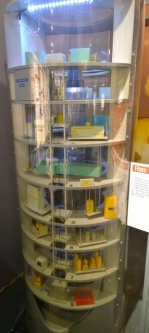 Model of the silo levels