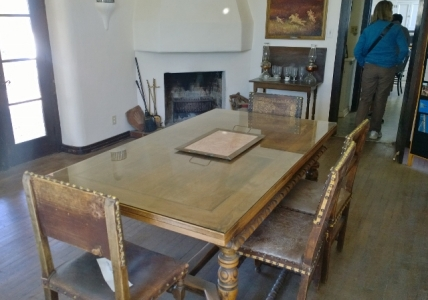 Dining Room - table extended to serve 12