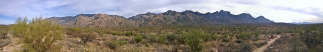 Panorama from Nature Trail