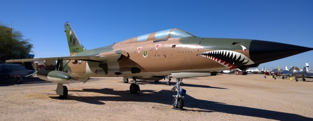 Republic F-105G Thunderchief 1967-83