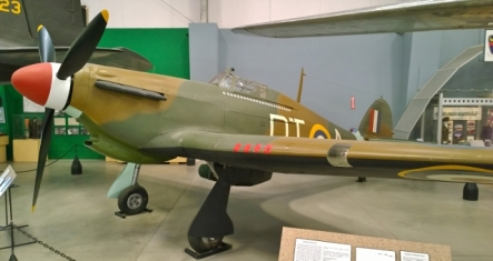Hawker Hurricane built in Canada