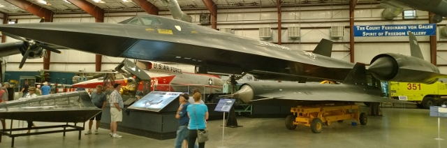 Lockheed SR-71A Blackbird - Top Speed of over Mach 3