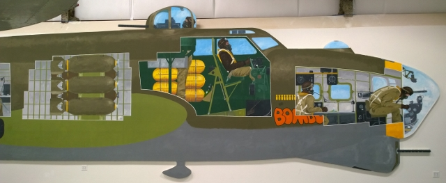 B-17 Mural Internal layout