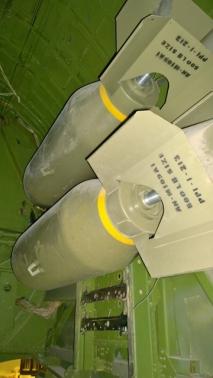 B-17 Bomb Storage