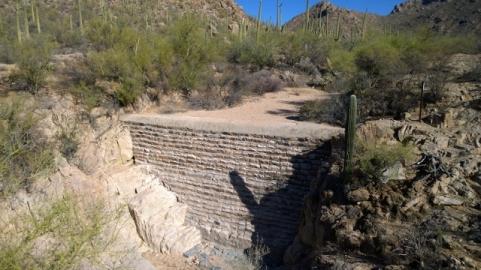 CCC built dam