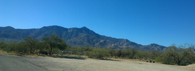 View to Kitt Peak