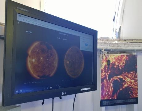Sun Spots and Solar Flares