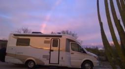 Rainbow into RV