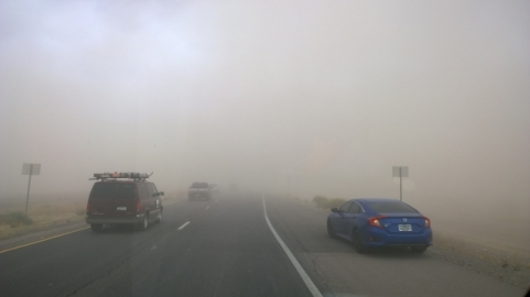 Dust Storm entering Phoenix