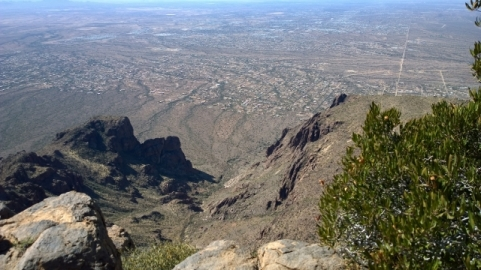 View of Apache Junction from Flatiron