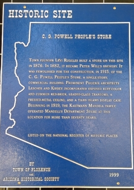C. G. Powell People's Store