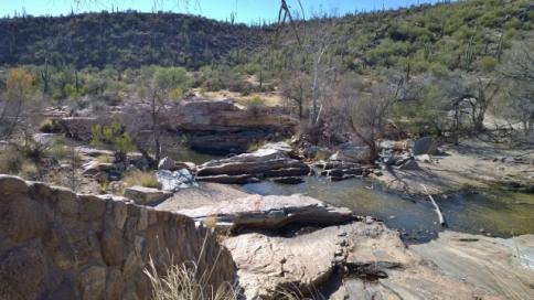 Below Sabino Dam