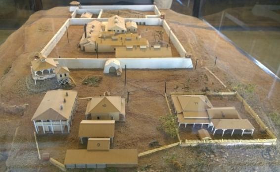 Yuma Prison model