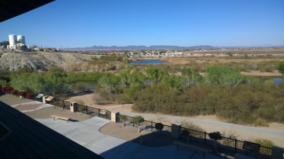View of Colorado River from Guard Tower